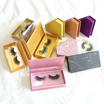 mink lashes with private packaging case
